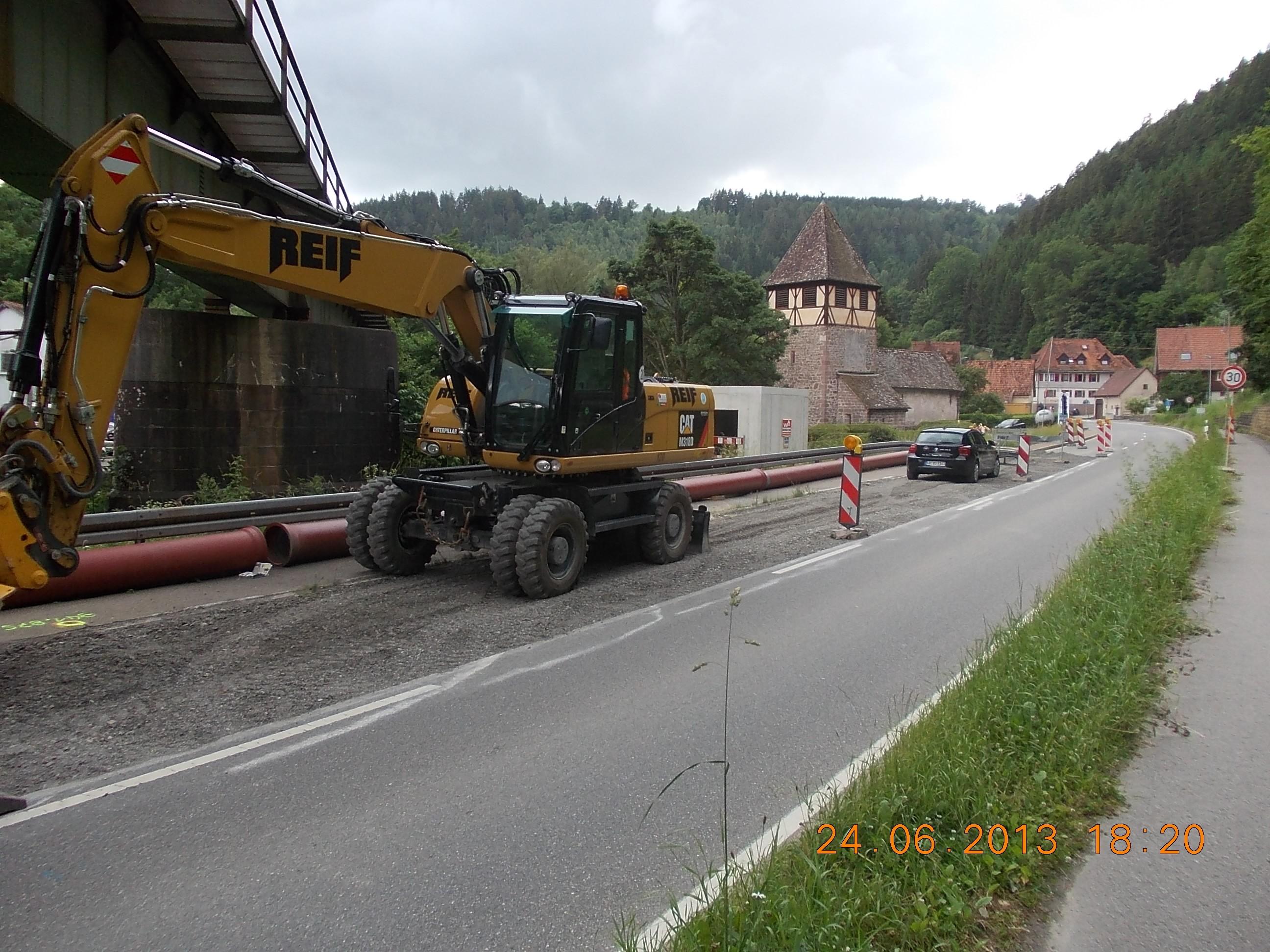 Kentheim Neubau Pumpwerk