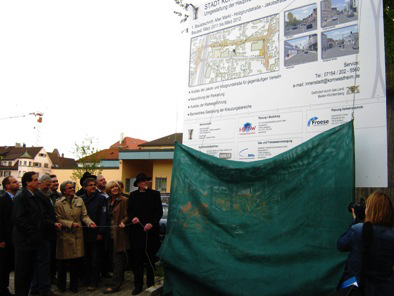 Offizieller Startschuss für Umbau der Kornwestheimer Innenstadt