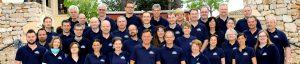 Mitarbeiter in Mallorca - Gruppenfoto