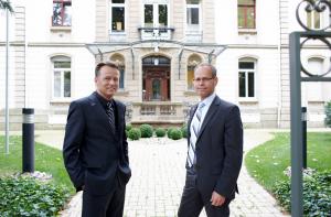 U. Blankenhorn und T. Zeltwanger Villa Franck Ludwigsburg