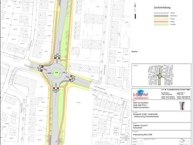Kreisverkehrskonzeption – Kornwestheim
