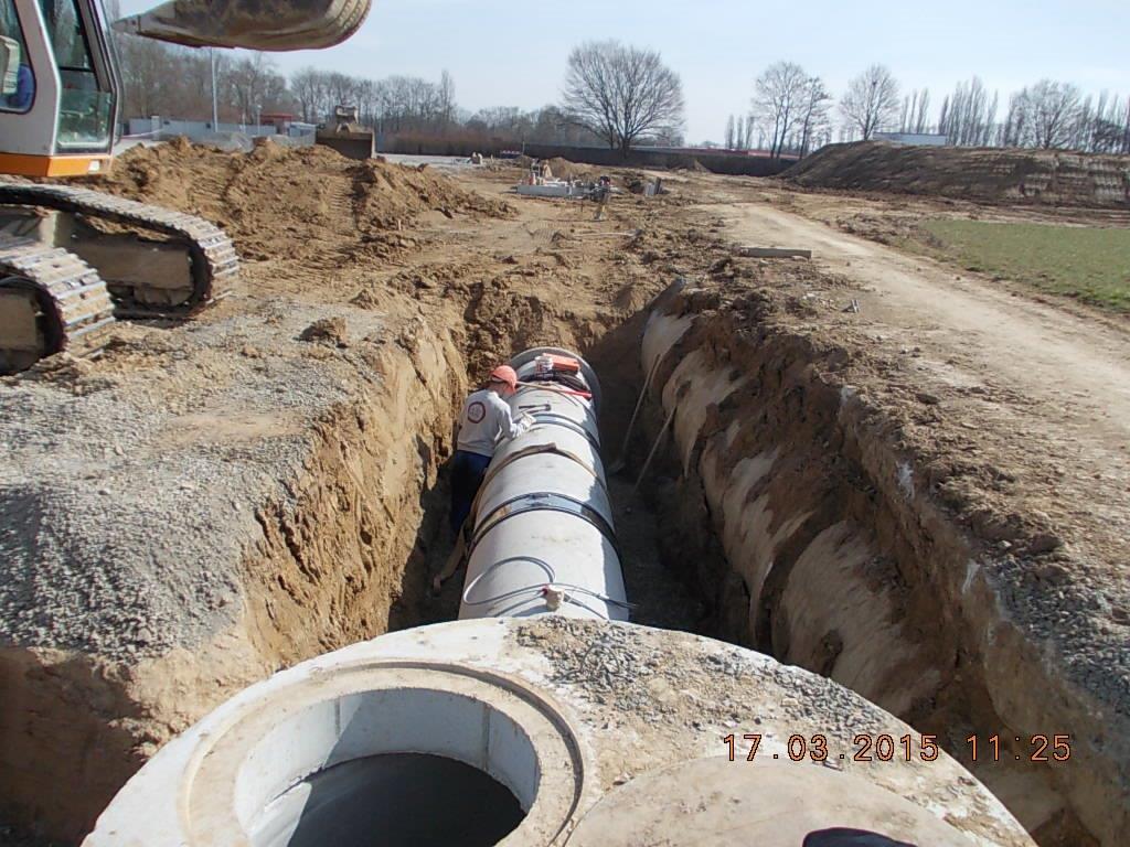 Neubau und Verlegung der Infrastruktur – W&W-Konzerns