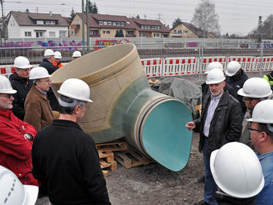 Sanierung Kanalisation Bahnlinie – Asperg