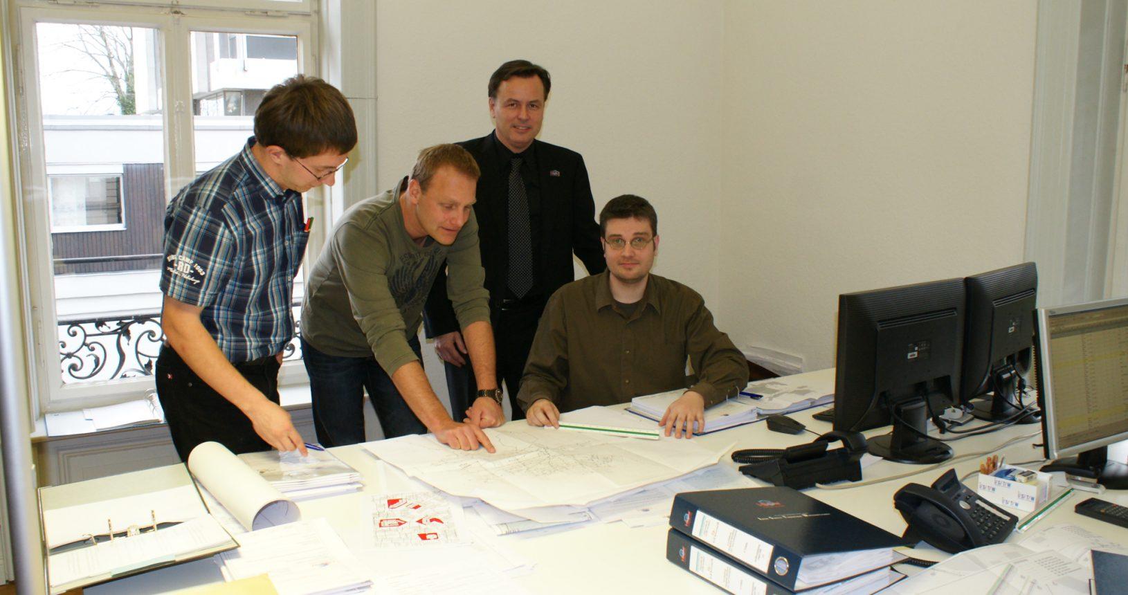 Mitarbeiter ISTW Ludwigsburg und U. Blankenhorn