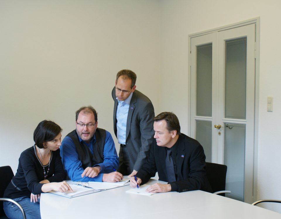 Mitarbeiter ISTW Ludwigsburg und T. Zeltwanger